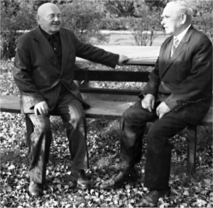 Od lewej: Bronisław Perkowski i Józef Krasnodębski