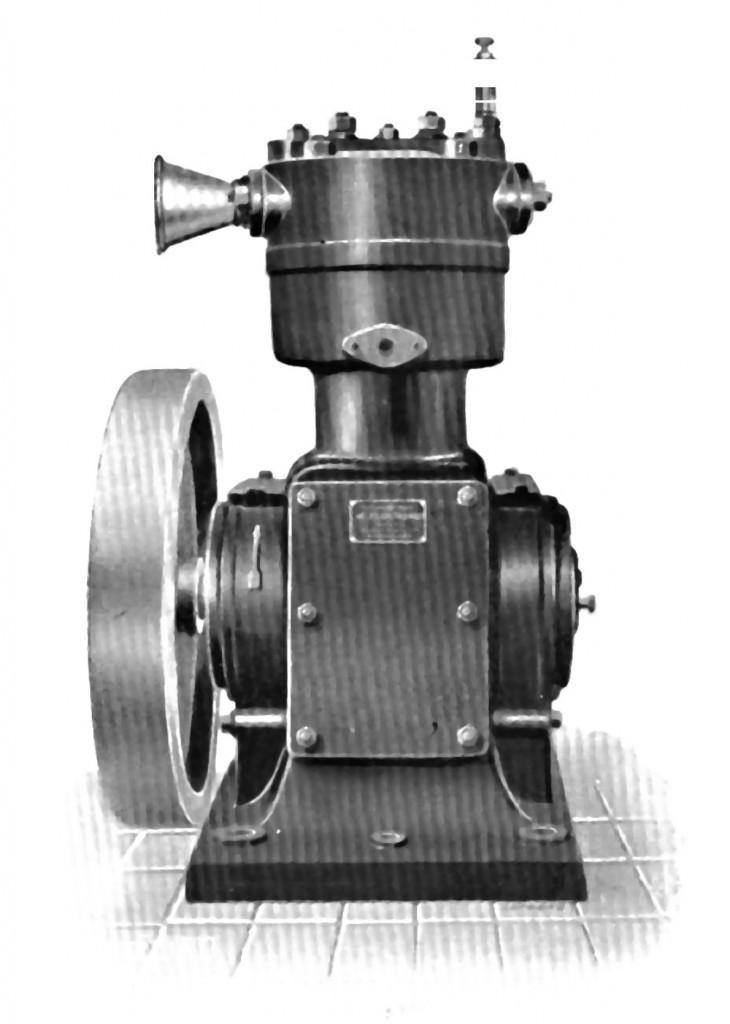 Sprężarka tłokowa napędzana pasem transmisyjnym