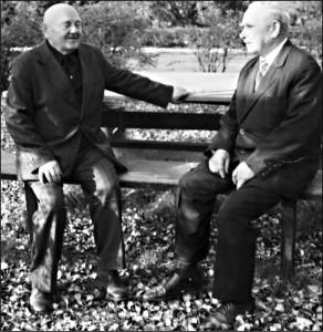 Bronisław Perkowski i Józef Krasnodębski, dwaj przedwojenni pracownicy Twardowskiego