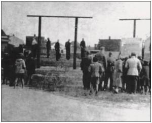 16 października 1942 roku przy dworcu kolejowym w Rembertowie powieszono dziesięciu więźniów Pawiaka.