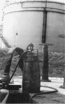 Pompa P-1BA/I na stacji paliw CPN.
