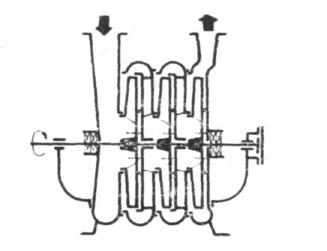 Rys. 12. Schemat konstrukcyjny pompy OS-AM.