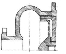Rys. 16. Fragment układu przepływowego pompy PH-100S.