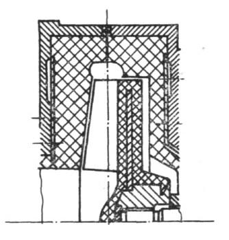 Rys. 18. Fragment układu przepływowego pompy PG.