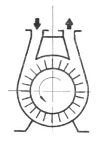 Rys. 33. Schemat konstrukcyjny pompy S-12 R.